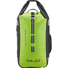 XLC Commuter Backpack waterproof neon green